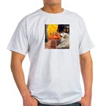 Cafe / Great Pyrenees Light T-Shirt