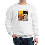 Cafe / Great Pyrenees Sweatshirt