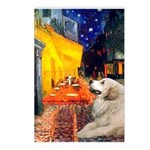 Cafe / Great Pyrenees Postcards (Package of 8)