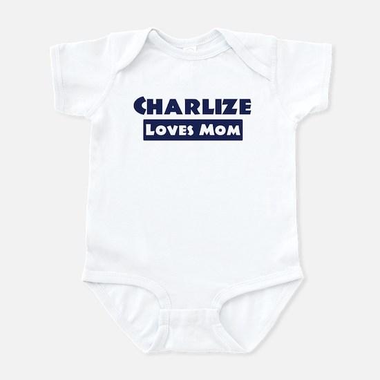 Charlize Loves Mom Infant Bodysuit