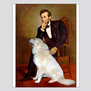 Lincoln / Great Pyrenees Small Poster