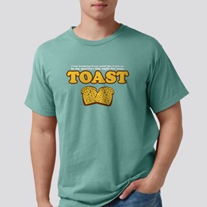 Nacho - Toast Black T-Shirt