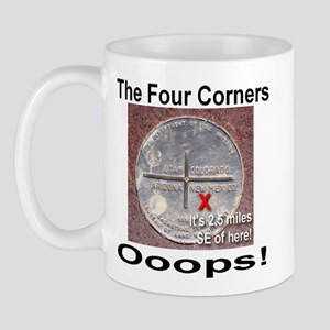 The Four Corners Mug
