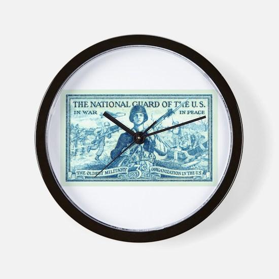 Cute National guard Wall Clock