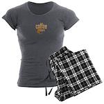 Coffee Shirt Women's Charcoal Pajamas