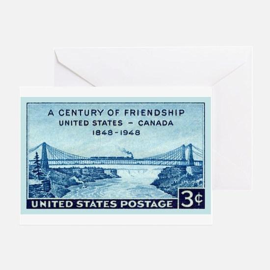 Cute Niagara falls Greeting Card