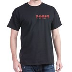 Apple Row Dark T-Shirt