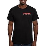 Apple Row Men's Fitted T-Shirt (dark)
