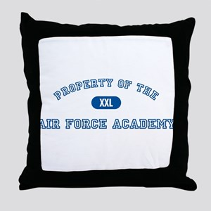 Property of the AFA Throw Pillow