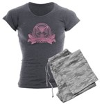 Antisocial Butterfly Pink Women's Charcoal Paj