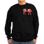 Apple Buddies Sweatshirt (dark)
