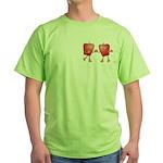 Apple Buddies Green T-Shirt