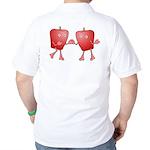 Apple Buddies Golf Shirt