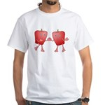 Apple Buddies White T-Shirt