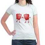 Apple Buddies Jr. Ringer T-Shirt