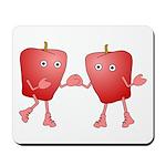 Apple Buddies Mousepad
