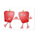 Apple Buddies Postcards (Package of 8)