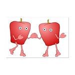 Apple Buddies Mini Poster Print