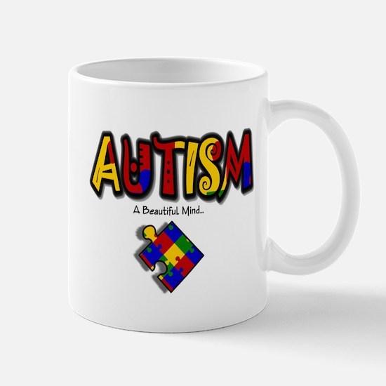 """Autism - A Beautiful Mind"" Mug"