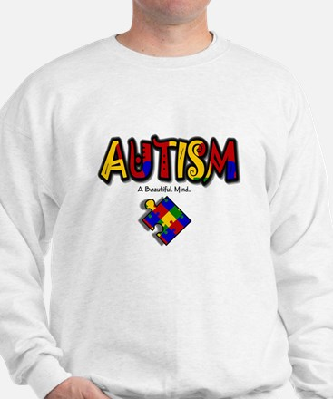 """Autism - A Beautiful Mind"" Sweatshirt"