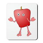 Apple Critter Mousepad