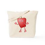 Apple Critter Tote Bag