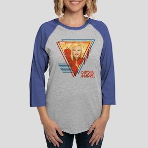 Captain Marvel Triangle Long Sleeve T-Shirt