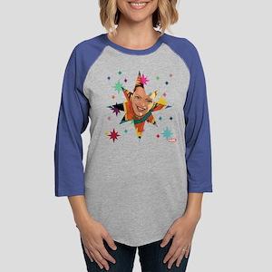 Captain Marvel Stars Long Sleeve T-Shirt