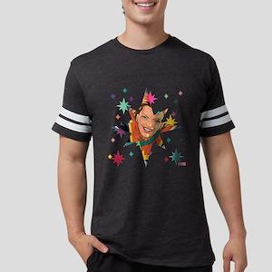 Captain Marvel Stars T-Shirt