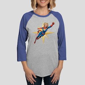 Captain Marvel Flying Long Sleeve T-Shirt
