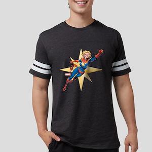 Captain Marvel Flying T-Shirt