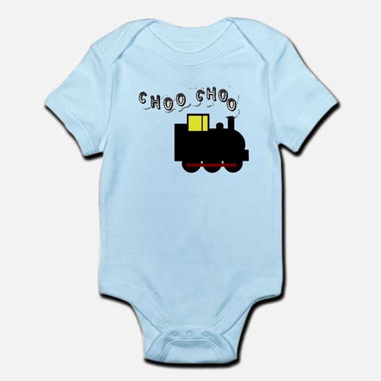 All Aboard - Choo Choo! Infant Bodysuit