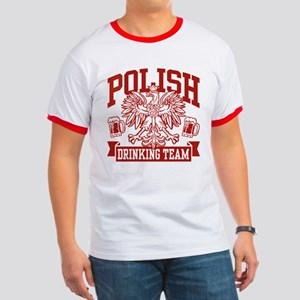 Polish Drinking Team Ringer T