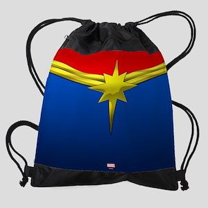 Captain Marvel Drawstring Bag