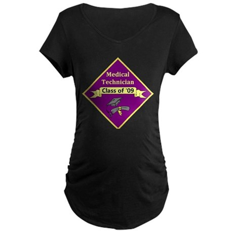 Med Tech Maternity Dark T-Shirt