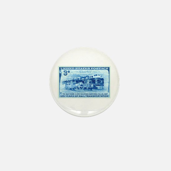 Cool Stamp collecting Mini Button