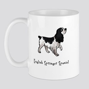 English Springer Spaniel Illustrated Mug
