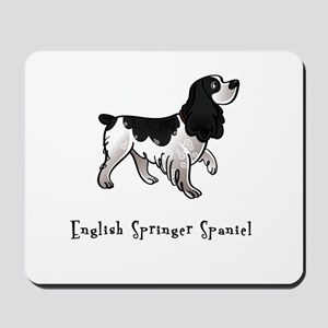 English Springer Spaniel Illustrated Mousepad