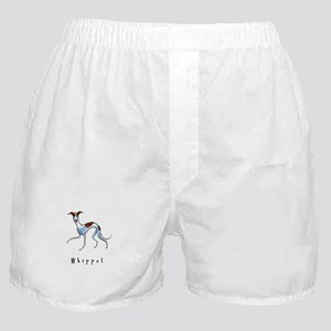 Whippet Illustration Boxer Shorts