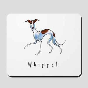 Whippet Illustration Mousepad