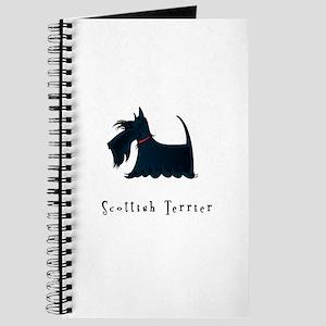 Scottish Terrier Illustration Journal