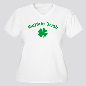 Buffalo Irish Women's Plus Size V-Neck T-Shirt