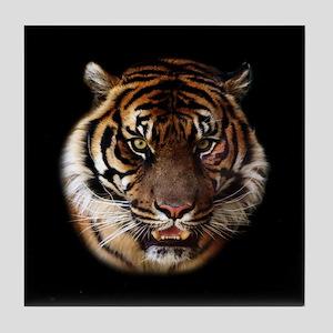 Go Wild Tiger Tile Coaster