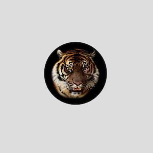 Go Wild Tiger Mini Button