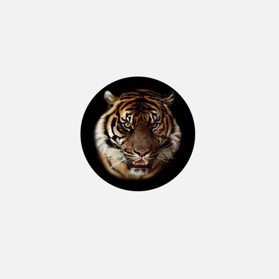 Go Wild Tiger Mini Button