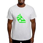 Green Sailboat Light T-Shirt