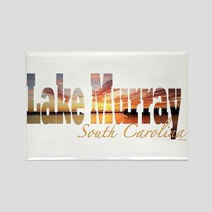 Lake Murray Rectangle Magnet