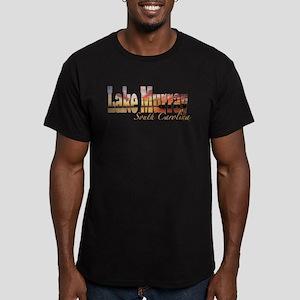 Lake Murray Men's Fitted T-Shirt (dark)