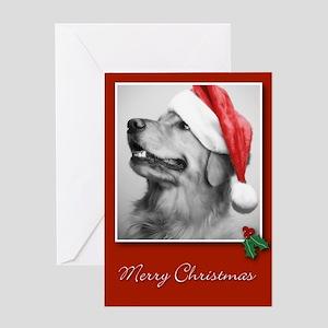 Golden Retriever Christmas Cards (Pack of 10) Gree