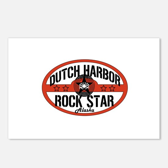 Dutch Harbor Rock Star Postcards (Package of 8)